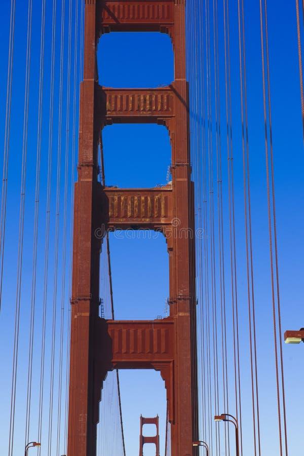 Towers Golden Gate Bridge, San Francisco stock photos