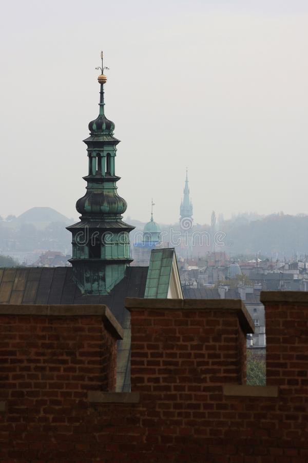 Download Towers of Krakow stock image. Image of battlement, castle - 24538655