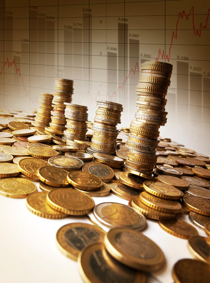 Download Towers Of Money Stock Photo - Image: 14204800