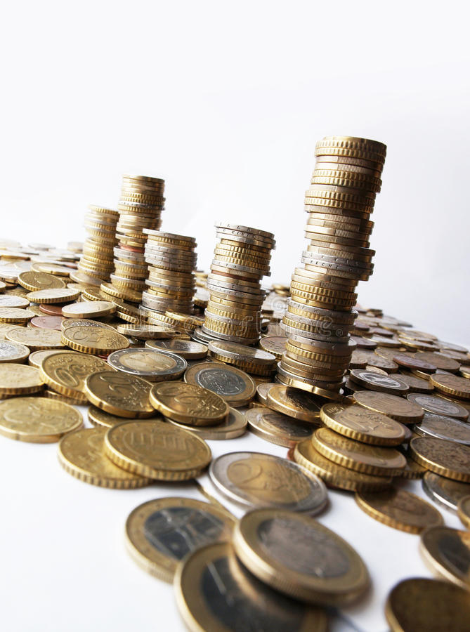 Download Towers of money stock image. Image of business, greece - 14204841