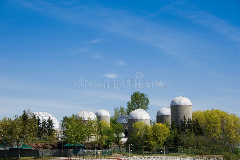 Towers of Ontario royalty free stock photography