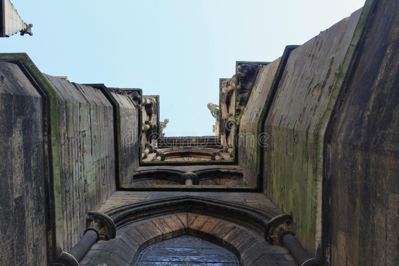 Towers and walls royalty free stock photos