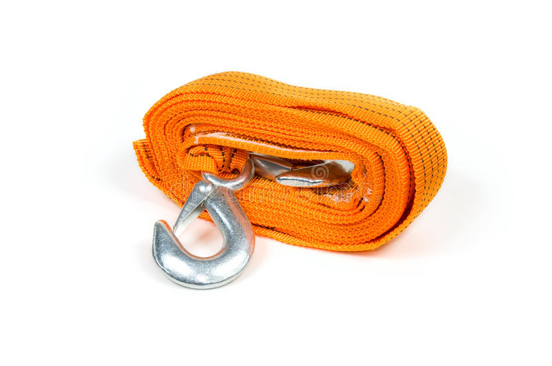 Download Towing rope stock photo. Image of metal, cable, isolated - 17018450