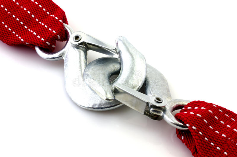 Towing rope royalty free stock photos