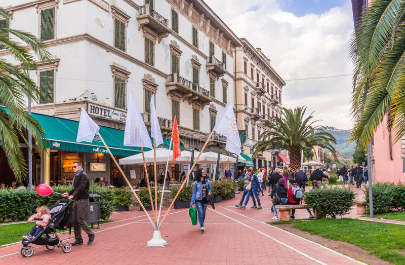 Download Town Center Of Montecatini, Italy Editorial Stock Photo - Image: 83712503