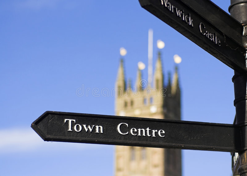 Town Centre Sign