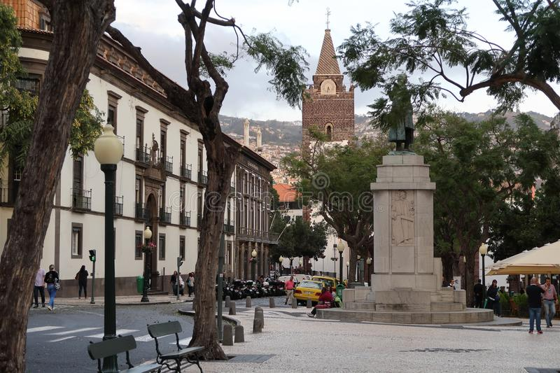 Town, City, Plaza, Town Square stock image