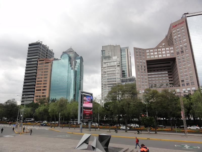 Town Ciudad de Mexico – Mexico royalty free stock photography