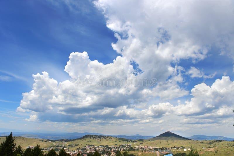Town of Cripple Creek in Colorado. Town of Cripple Creel on the mountains of Colorado stock photos