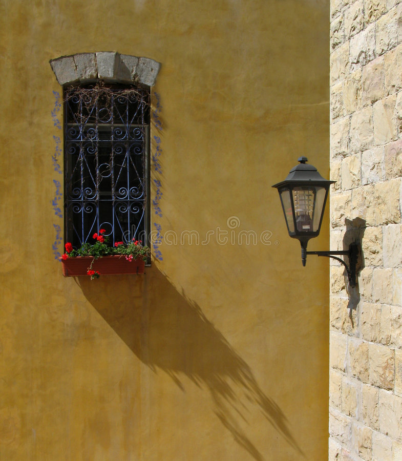 Town etude. Zefat (Safed), the sity in the Northen Israel stock photography
