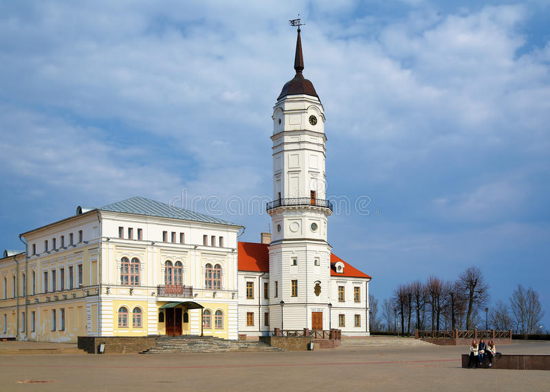 town för belarus korridormogilev royaltyfri fotografi