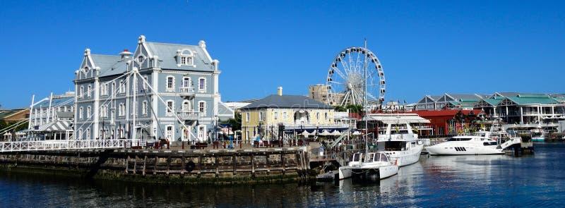 Town för V&A-strandudd, Sydafrika royaltyfria bilder