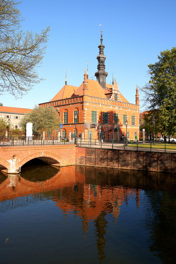 Town Hall. Renaissance building of the former Town Hall in Gdansk, Poland stock photography