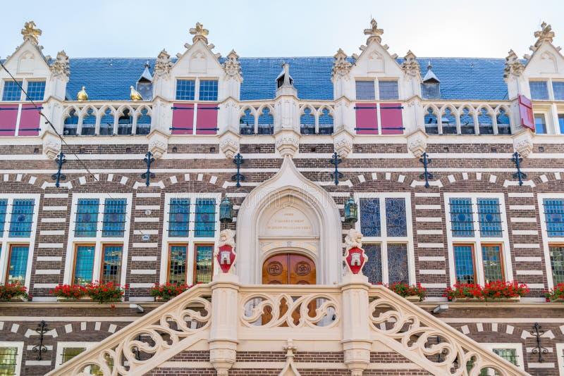 Town hall of Alkmaar, Netherlands stock photo