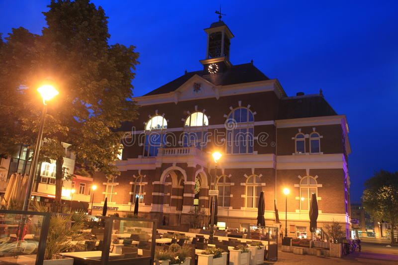 Town hall in Apeldoorn. Netherlands royalty free stock photography