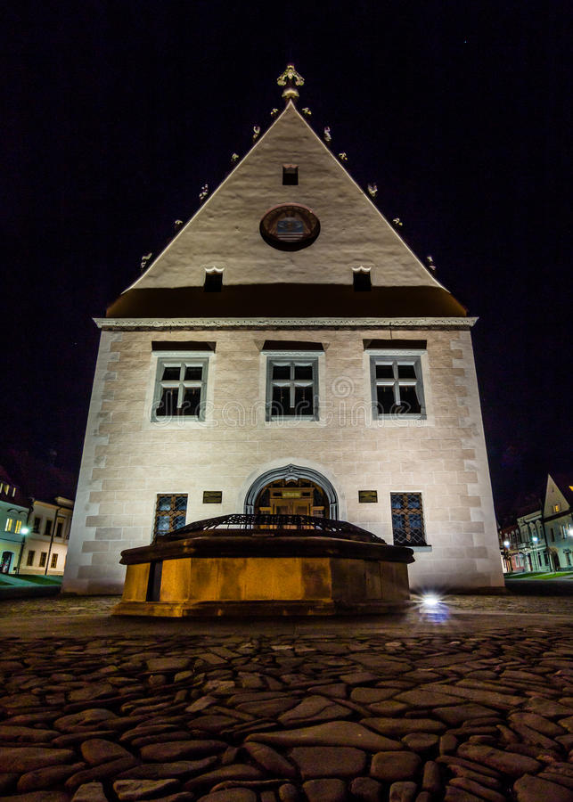 The Town Hall in Bardejov royalty free stock images