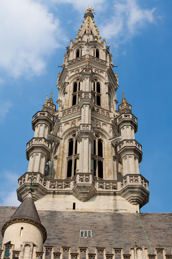Download Town Hall of Brussels stock photo. Image of belgium, square - 26195958