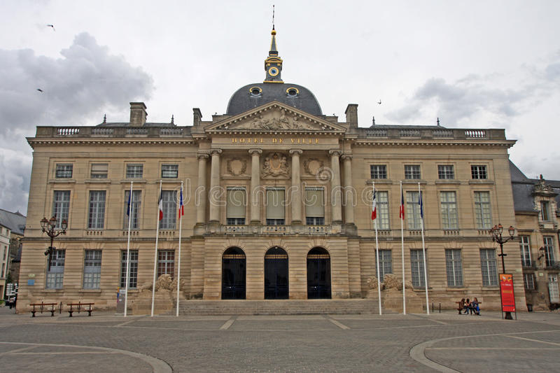 Town Hall, Chalons-en-Champagne. Town Hall in Chalons-en-Champagne, France royalty free stock photos
