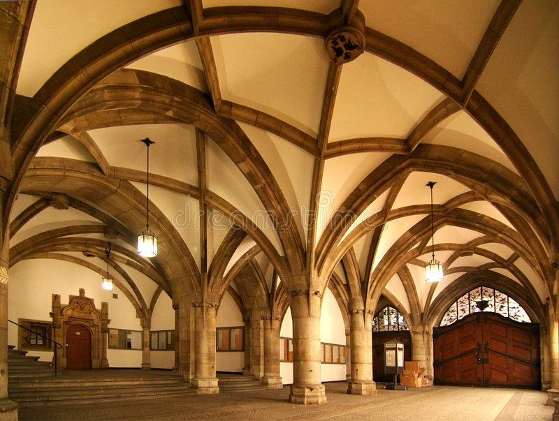 Download Town Hall Interior stock photo. Image of interior, historical - 9362648