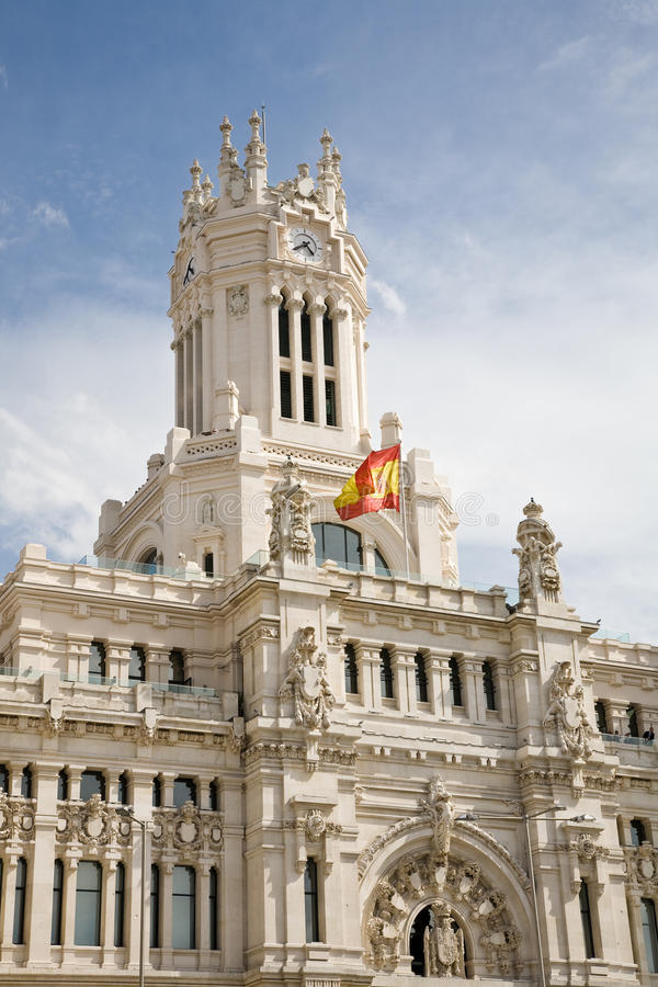 Town Hall, Madrid royalty free stock photo