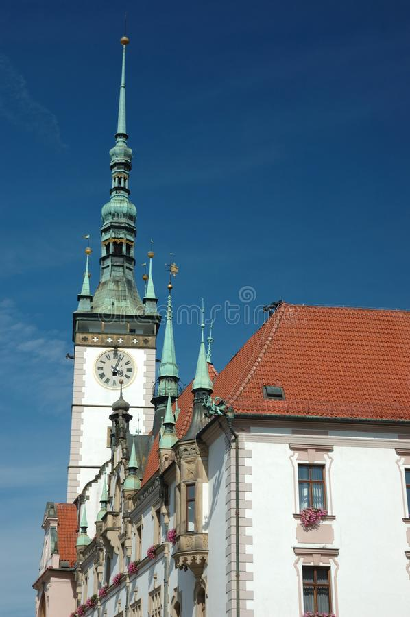 Download Town Hall On The Main Square Of Olomouc Stock Photo - Image: 6257550