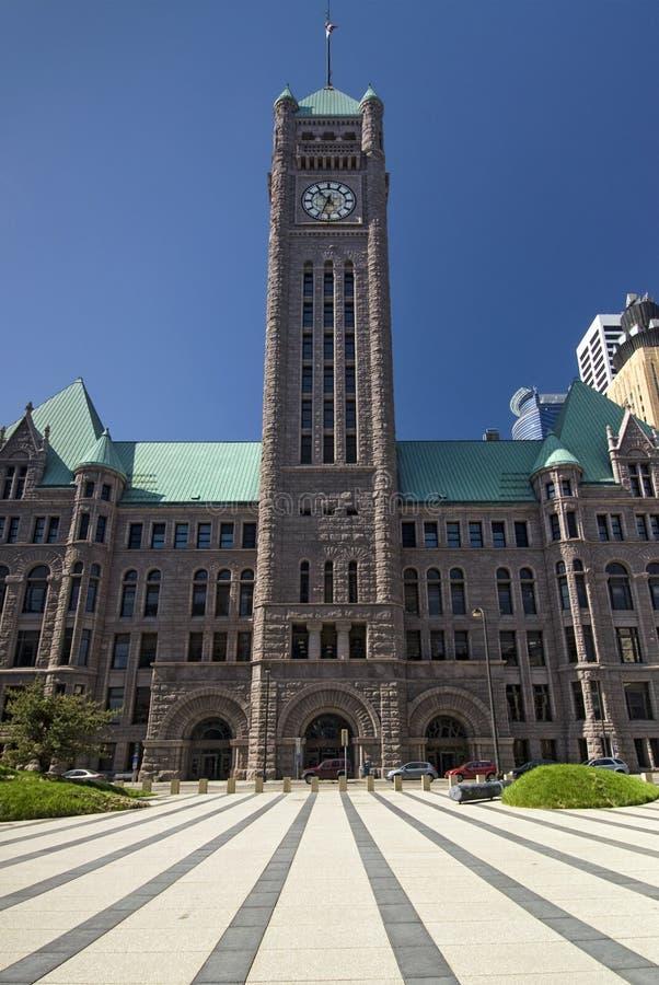 Town Hall, Minneapolis, Minnesota, USA royalty free stock photos