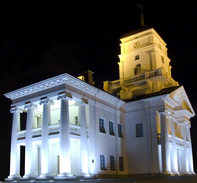 Download Town Hall of Minsk stock image. Image of light, city, minsk - 5488391