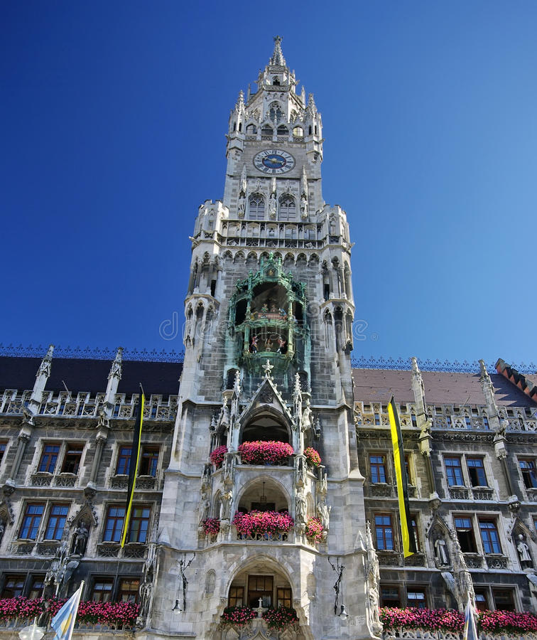 Download Town hall in Munich stock image. Image of columns, hall - 13189935