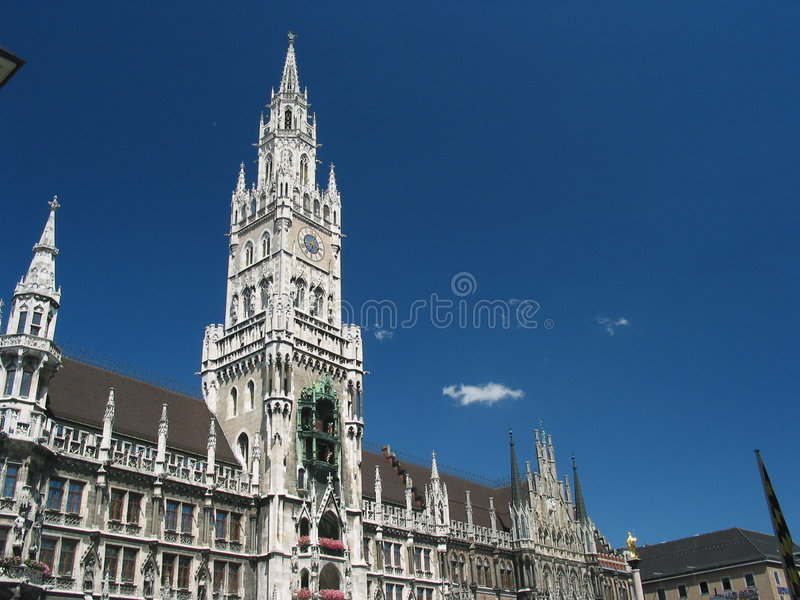 Town hall in Munich, Germany stock image