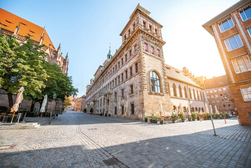Town hall in Nurnberg, Germany stock photo