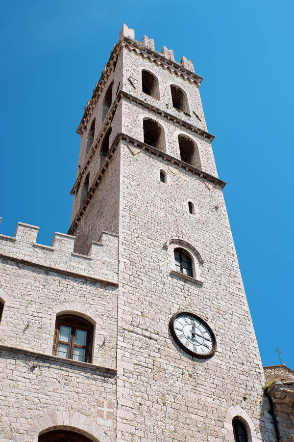 Free Town Hall Of Assisi Royalty Free Stock Image - 10189406