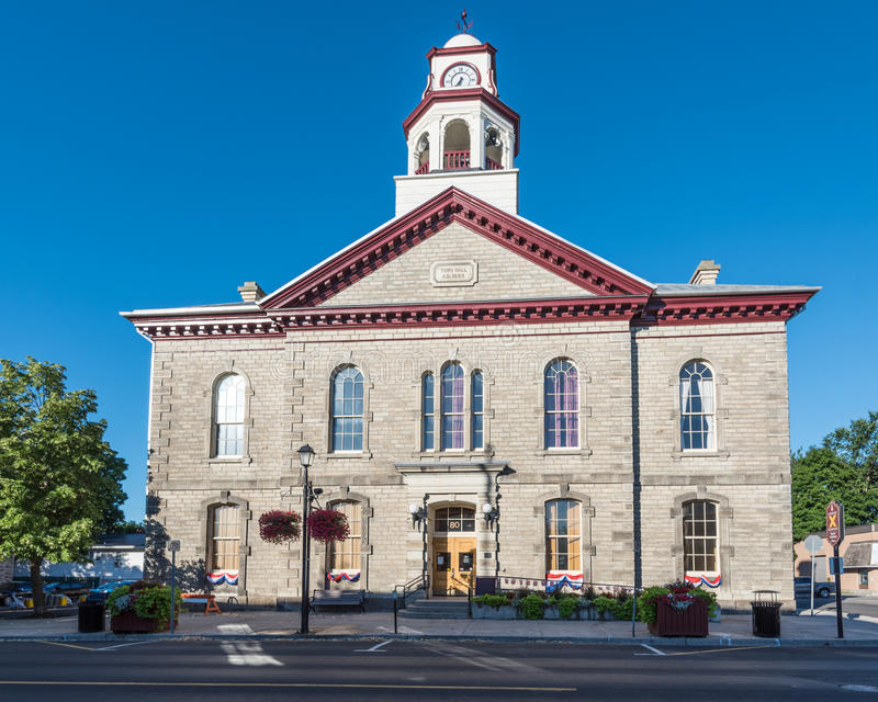 Download Town Hall in Perth stock image. Image of clock, government - 82237287