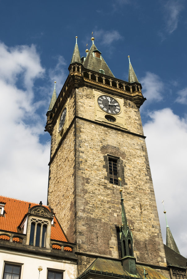 Town hall in Prague royalty free stock photography