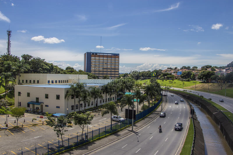 Town hall of Sao Jose dos Campos - Brazil royalty free stock image