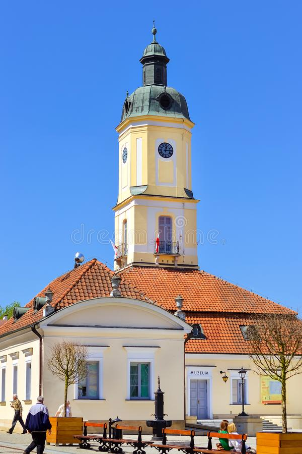 Free Town Hall Tower In Bialystok, Poland Stock Photo - 114967530