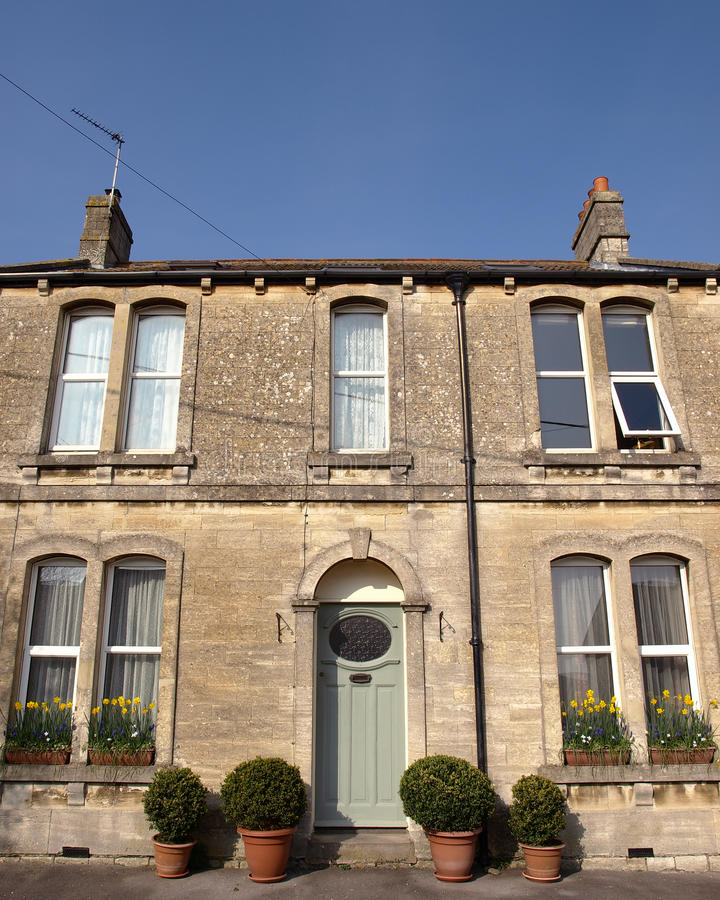 Town House stock photography