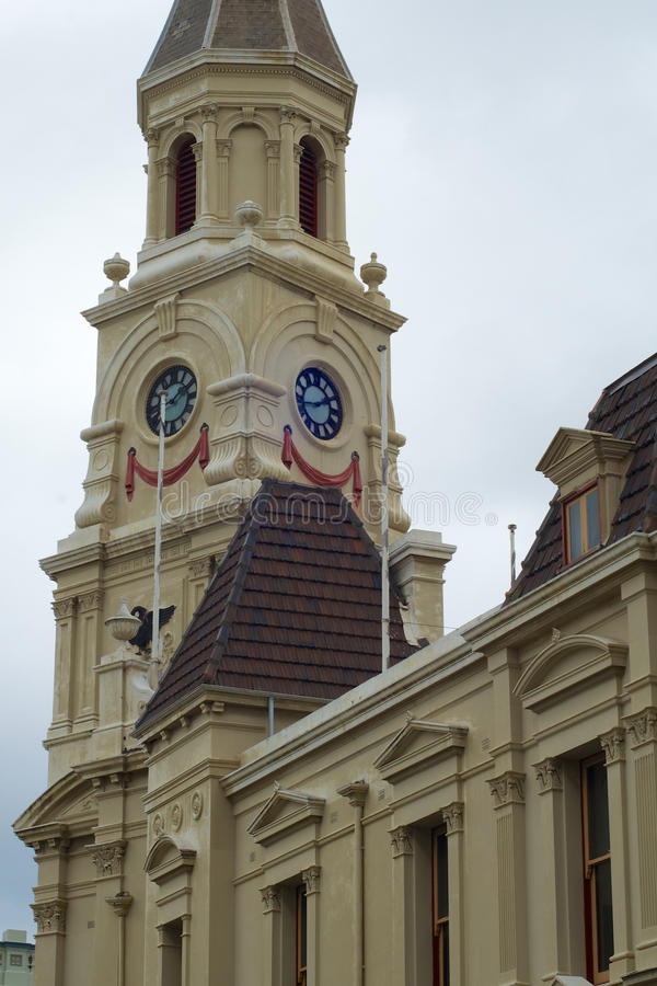Town and Jubilee Hall, Fremantle, Australia royalty free stock image