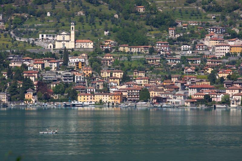 Town On A Lake Stock Photos
