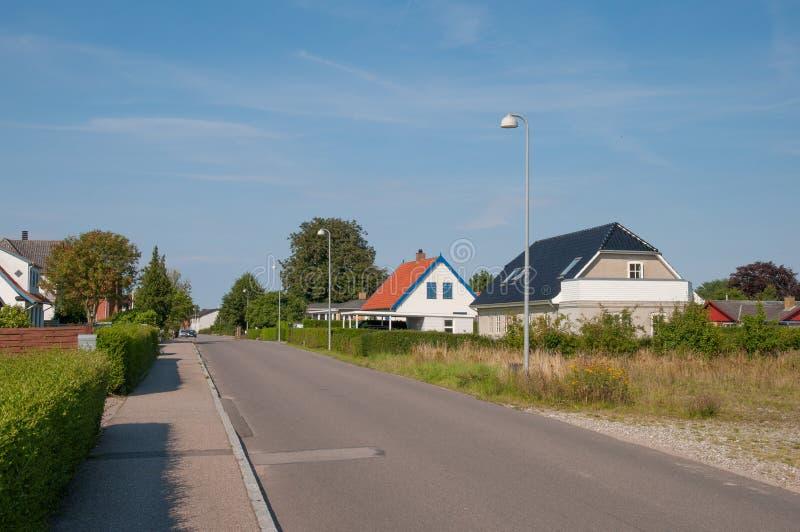 Town of Lendemarke in Denmark stock images