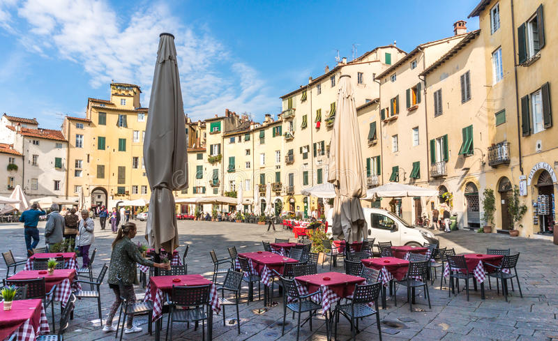 Download Town Of Lucce, Italy Editorial Photography - Image: 83713617