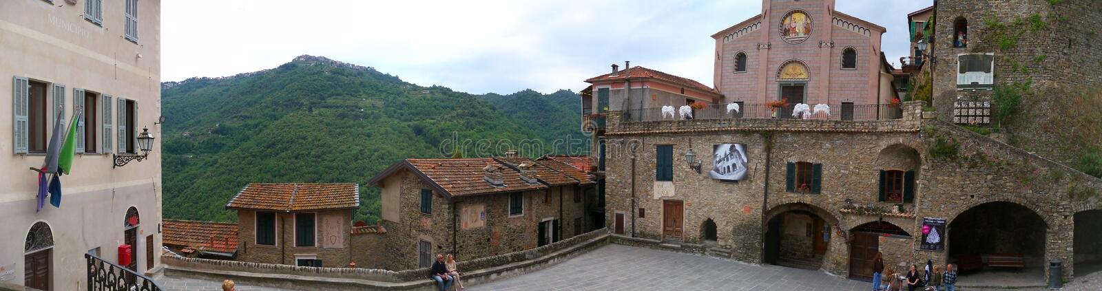 Town, Medieval Architecture, Historic Site, Neighbourhood stock image