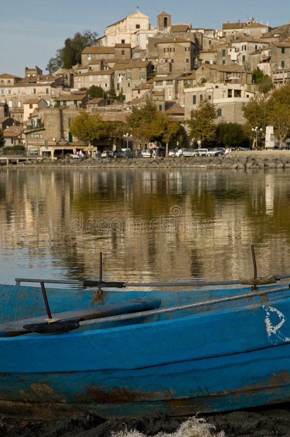 Free Town Of Anguillara In Italy Stock Image - 3485501