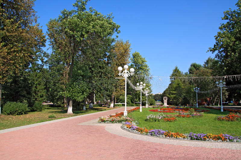 Download Town Park Royalty Free Stock Photo - Image: 25145775