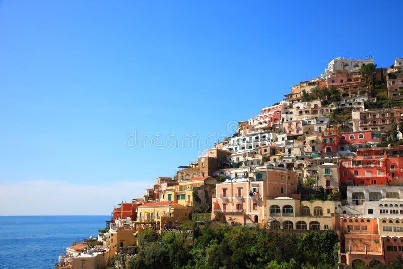Town of Positano,Amalfi stock images