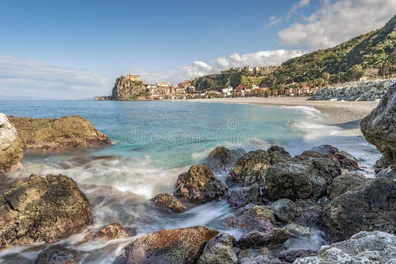 TOWN OF SCILLA, CALABRIA royalty free stock photography