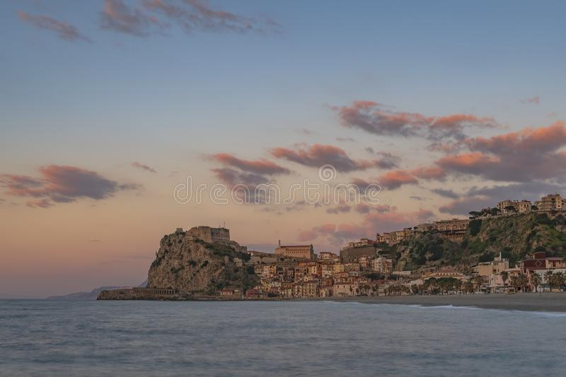 TOWN OF SCILLA, CALABRIA royalty free stock images