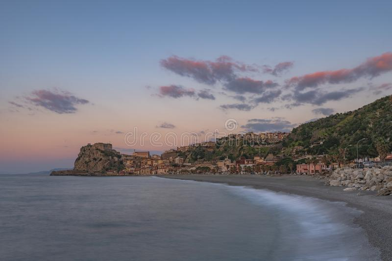 TOWN OF SCILLA, CALABRIA royalty free stock image