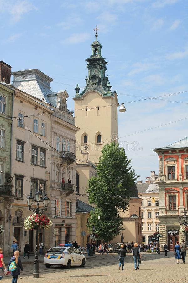 Town, Sky, Town Square, Landmark royalty free stock images