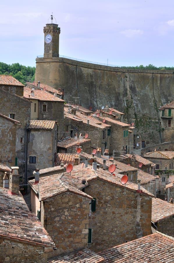 Free Town Sorano Stock Image - 11262321