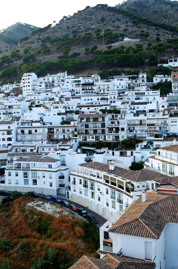 Town in Spain stock photos